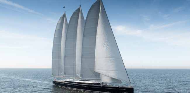 worlds-largest-aluminium-sailing-yacht-81m-royal-huisman-sea-eagle-II-launched-running-shot-credit-Tom-Van-Oossanen (1)