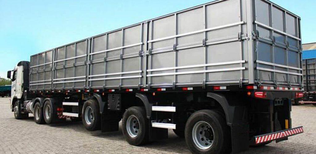 ACM aplicado em implementos rodoviários garante durabilidade e redução de tara (Divulgação/Alucomaxx)