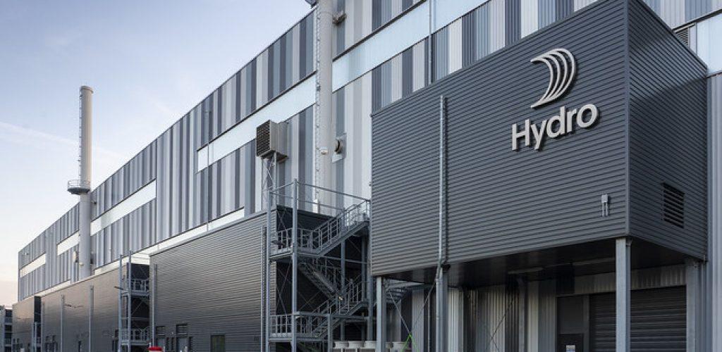 Neues Logo Hydro Aluminium Grvenbroich am 15.10.2018