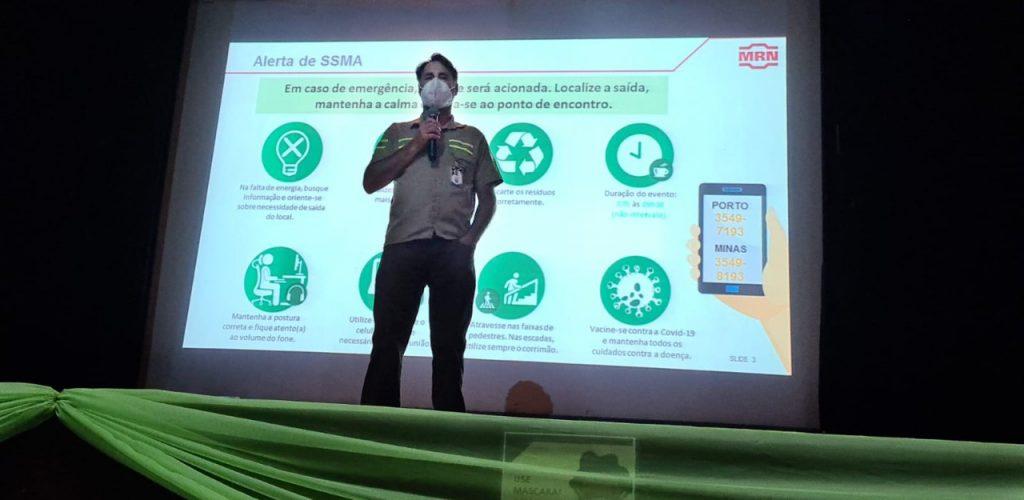 CEO da MRN, Guido Germani, na abertura da Sipatmin 1