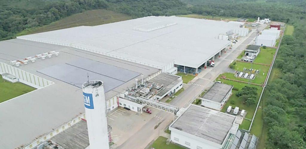 Fábrica quadruplicou de tamanho para receber a nova linha de motores