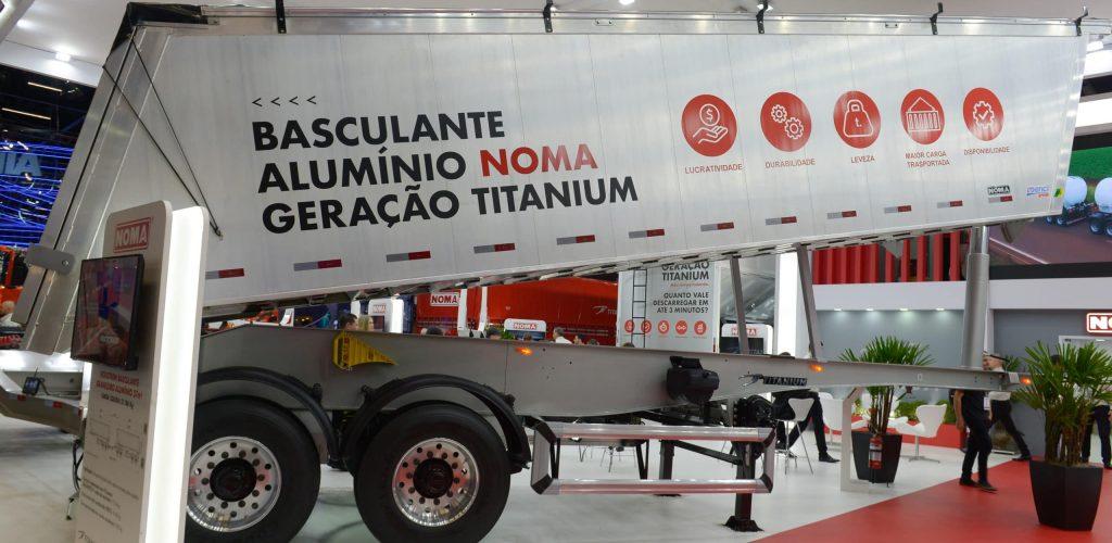 Novo basculante aluminio geracao titanium Noma