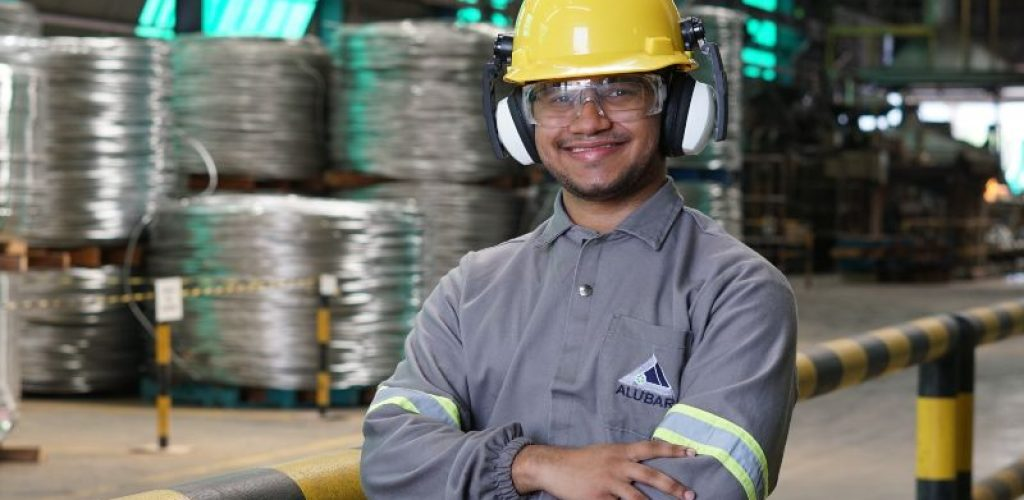 Thallys Costalat, estagiário de Engenharia de Processo da Alubar em Barcarena (1)